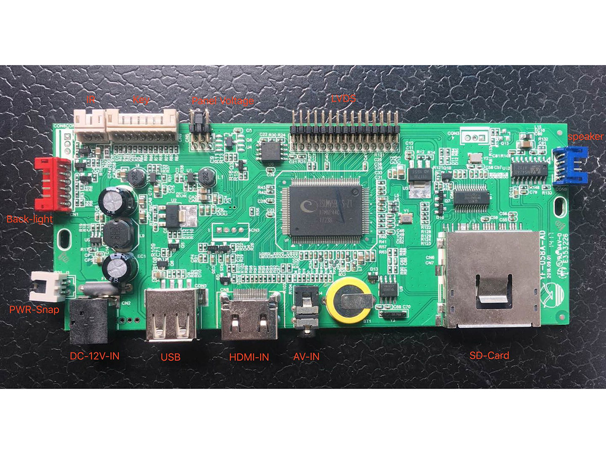 How to upgrade firmware for V59 ad board-HYY TECHNOLOGY CO